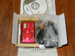 NEW in Open Box Nikon COOLPIX S6200 16.0 MP Camera RED 018208262755