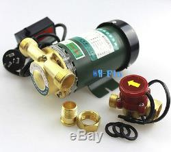 New 220V 120W Electronic Automatic Home Shower Washing Water Booster Pump New