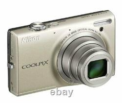 Nikon Coolpix S6100 16MP Digital Camera with 7x Optical Zoom Silver