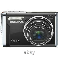 Olympus Stylus 9000 12MP Digital Camera with 10x Wide Angle Optical Zoom