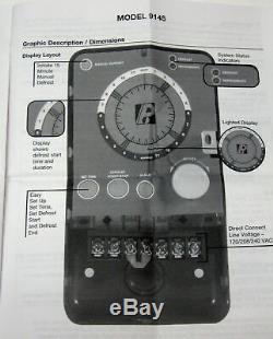 Paragon 9145-00 Programmable Defrost Control Commercial Refrigeration Timer
