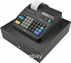 Royal 140DX Electronic Cash Register with Automatic Tax Computation, Black