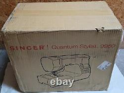 SINGER Quantum Stylist 9960 Computerized Sewing Machine with 600+ Stitch Ap