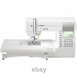 SINGER Quantum Stylist 9960 Computerized Sewing Machine with 600+ Stitch Applic
