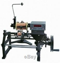 Semi-Automatic Coil Winding Machine Hand Coil Winder With Electronic Counting uw