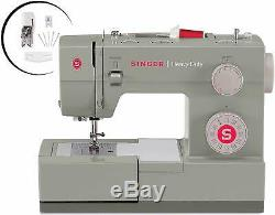 Singer Heavy Duty Sewing Machine 32 Built-In Stitches Automatic Needle Threader