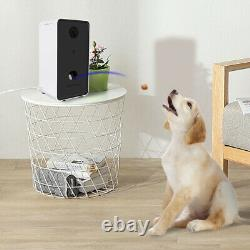 Smart Feeder Automatic Wi-Fi Camera Pet Feeder for Cats and Dogs Food Dispenser