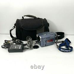 Sony Handycam CCD-TRV128 8mm Video8 HI8 Camcorder with Charger Needs New Battery
