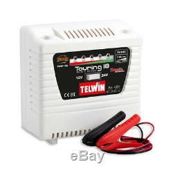 Telwin 12/24 volt Battery Charger 13/8 amp Tronic Electronic Control