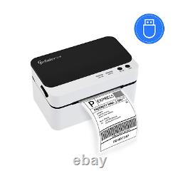 Thermal Label Printer USB Shipping Label Barcode Portable All Labels Supported