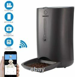 Wopet Smartfeeder Automatic Pet Dog Cat Feeder with Phone App Camera & Timer